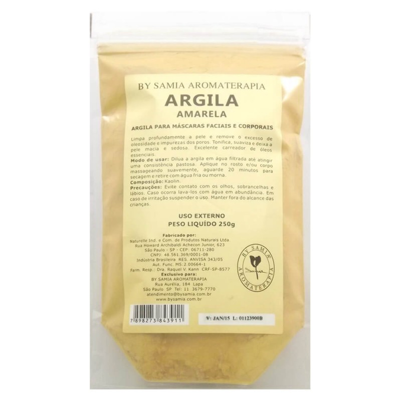 Argila Amarela 250g